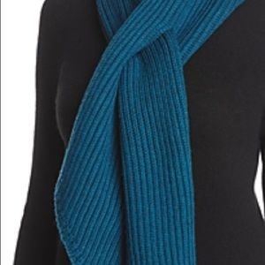 Eileen Fisher Knit Scarf in Blue Spruce - One Size